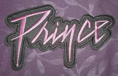 PRINCE PATCH PURPLE RAIN LOGO EMBROIDERED SEW/ IRON ON DIY