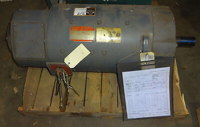 General Electric 50 HP 1150 rpm 500 V 2811At Frame Model 5BY441A28 Warranty