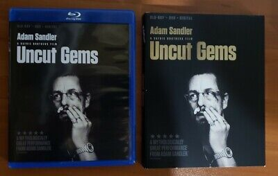 Uncut Gems (Blu-ray and DVD, 2020) Adam Sandler, The Weekend - No Digital