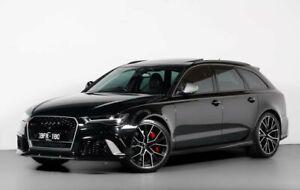 2016 Audi RS6 4G MY17 performance Avant Tiptronic Quattro Black 8 Speed Sports Automatic Wagon Moorabbin Kingston Area Preview