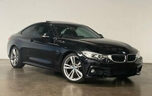 2015 BMW 4 Series F32 420d M Sport Black 8 Speed Sports Automatic Coupe South Melbourne Port Phillip Preview