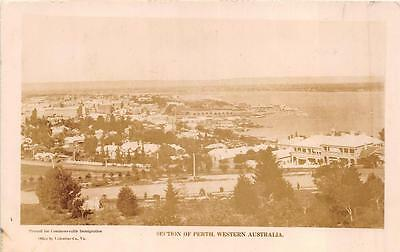 RPPC PERTH WESTERN AUSTRALIA REAL PHOTO POSTCARD (c. 1910)