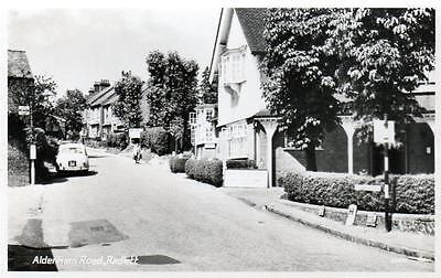 Radlett Aldenham Road Nr St Albans unused RP old postcard  Photo Precision