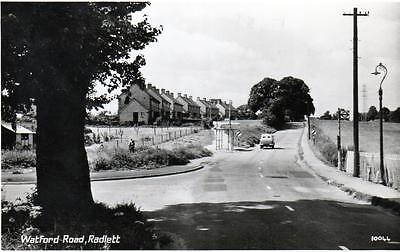 Radlett Watford Road Nr St Albans unused RP old postcard  Photo Precision