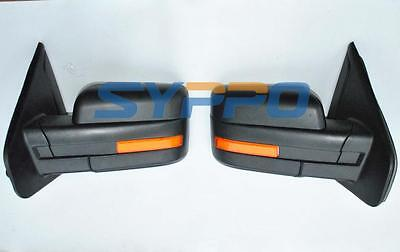 07-14 Ford F150 Side View Mirrors Power Heated LED Turn Signal Puddle Lights