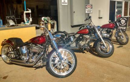 HARLEY CAFE RACER BOBBER SERVICING AND REPAIRS