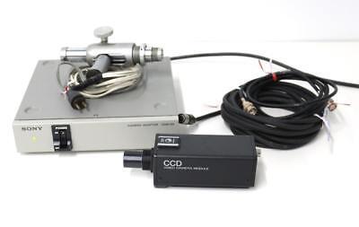 Sony Xc-57 Ccd Video Camera Module Wcma-d2 Camera Adaptor Gaertner Microscope