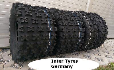 Gebraucht, 2x 21x7-10 P348 + 20x11-9 XTRAIL HAKUBA Satz ATV Quad Buggy Geländereifen  gebraucht kaufen  Görlitz