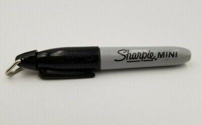 Sharpie Mini Black Fine Point Permanent Marker W Ring - Golf Teacher Nurse Pen