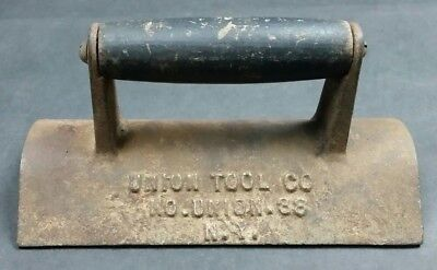 Vintage Union Tool Co. No. 38 Curb Edger Concrete Masonry Sidewalk