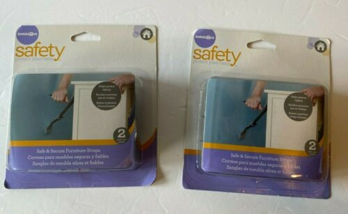 2 sets of Babies R Us Safety Furniture straps 4 total Helps Prevent Tipping