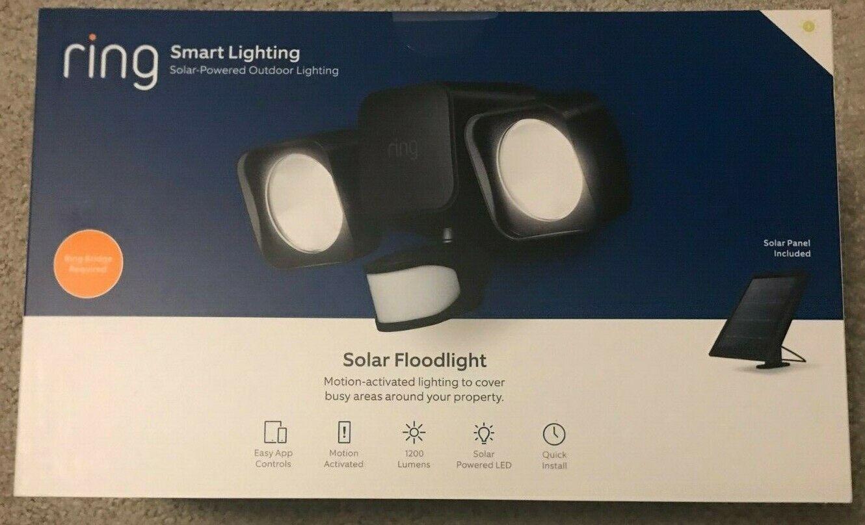 Introducing Ring Solar Floodlight – Outdoor Motion-Sensor