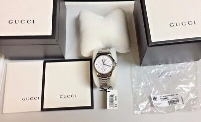 NEW!! Women's Gucci YA1264024 watch with Box, Papers and Tags