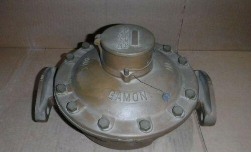"VINTAGE GAMON-CALMET BRASS 1 1/2"" MWD WATER FLOW METER"