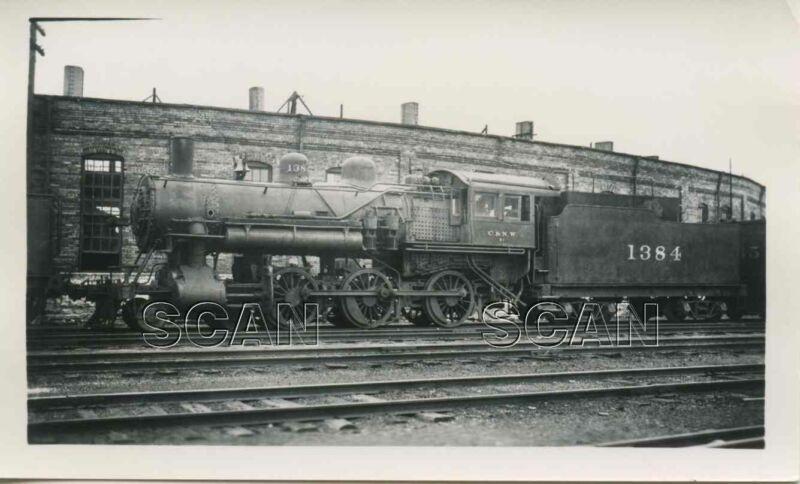 OD713  RP 1940s CHICAGO & NORTH WESTERN RAILROAD 460 LOCO #1384