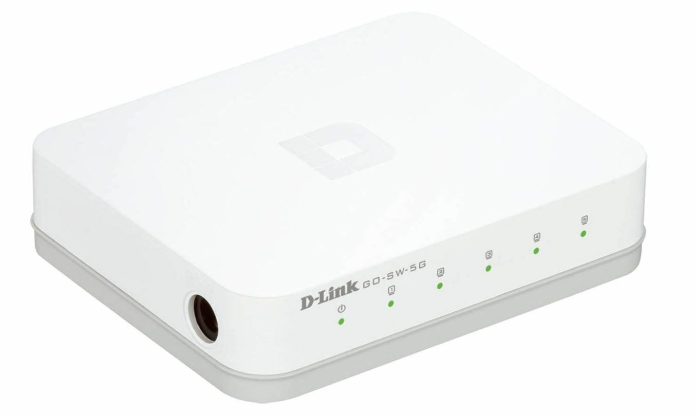 NEW D-Link GO-SW-5G 5-Port Unmanaged Gigabit Switch Ethernet