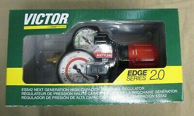 New Victor 0781-3605 Series Edge Series 2.0 Ess42-15-410 Acetylene Regulator