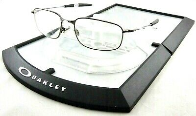 Oakley Big Square Wire RX Eye Glasses Chrome Frames ONLY Sunglasses