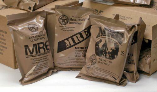 MRE U.S. MILITARY Case A/B 4 Random Draw - MEALS READY TO EAT