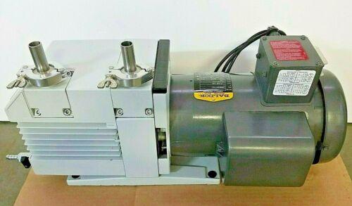 Oerlikon Leybold D16B TriVac Dual Stage Rotary Vane Vacuum Pump
