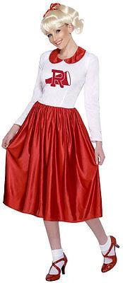 Sandy Grease Tanzkleid Kostüm NEU - Damen Karneval Fasching Verkleidung Kostüm