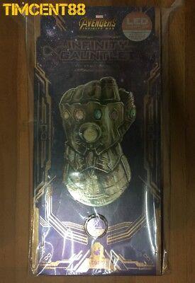 Ready Hot Toys ACS003 Avengers Infinity War 1/4 Thanos Infinity Gauntlet New