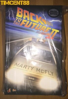 Ready Hot Toys MMS379 Back To The Future Part II Marty McFly Michael Fox Special