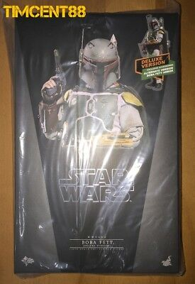 Ready! Hot Toys MMS464 Star Wars V The Empire Strikes Back Boba Fett Deluxe Ver