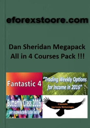 Dan Sheridan Megapack (All in 4 Courses Megapack )