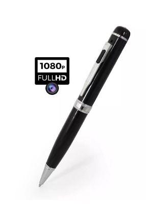 32GB 1080P HD Spy Pen Camera Video DVR Covert Hiddent Discreet Recording Audio