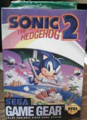 Sonic The Hedgehog 2 Sega Game Gear Sealed Brand -