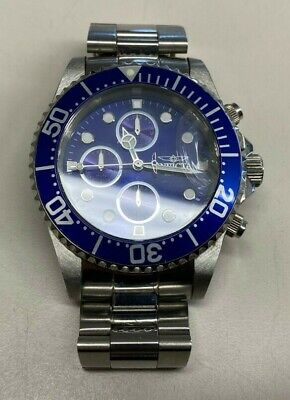 Invicta Mens 1769 Pro Diver Collection Stainless Steel Bracelet Watch AS IS