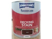 Decking stain paint