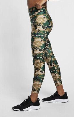 NEW Womens Nike Dry Camo Leggings Casual Gym Sports Yoga 'Train At Home' XS S L