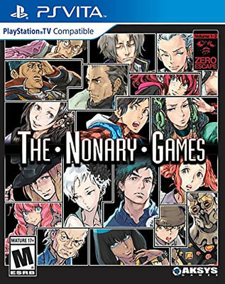 Zero Escape: The Nonary Games PSV New PlayStation Vita, PlayStation Vi