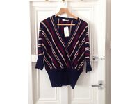 Stripe jumper from oasis