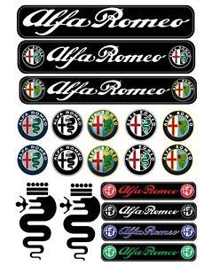 Alfa Romeo Sticker Ebay