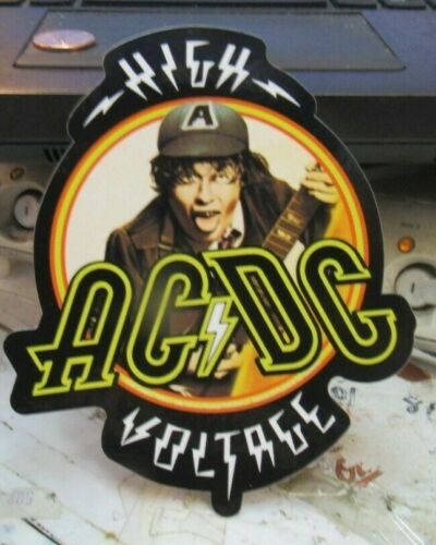 AC/DC ANGUS STICKER NEW  VINTAGE OOP RARE COLLECTIBLE