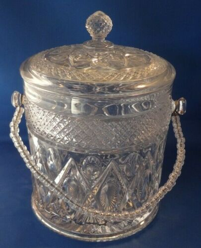 Cape Cod Imperial 1 Crystal 160/195 Covered Cookie Jar with Lid