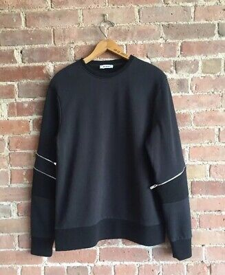 Tim Coppens Men's Zip Sleeve Sweatshirt Size Medium