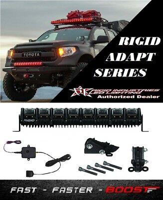 """Rigid Industries Adapt 20"""" Led Light & GPS Module & Stealth Mount Bracket Kit"""