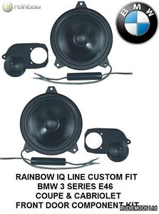 Rainbow IQ Line 231588 BMW 3 series E46 Coupe Front Speaker Upgrade Pack