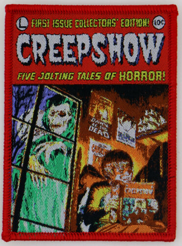 PATCH - Creepshow - Horror, Stephen King, George Romero, Comic Book, cult comedy