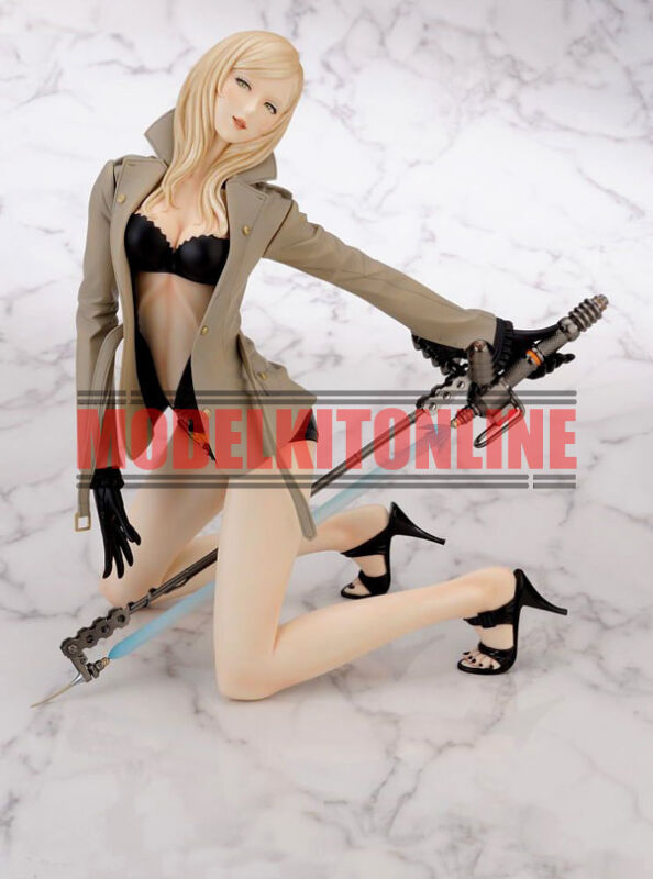 SYLVIA CHRISTEL NO MORE HEROES 2 1/6 UNPAINTED RESIN FIGURE MODEL KIT
