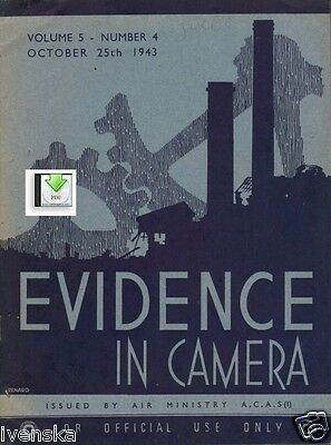 CD File Evidence in Camera Vol 5 1943 10 Marienburg Malbork FW 190 Danzig WW2