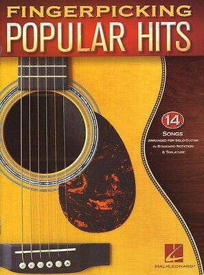 Fingerpicking Guitar .. Popular Hits 14 aktuelle Pop-Songs für Gitarre Noten Tab