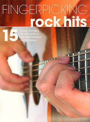 Fingerpicking Guitar ... Rock Hits 15 Songs für Gitarre Noten Tab