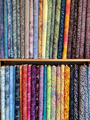 *Mulltibuy discount* Batik Fat Quarters,FQ, Cream, Orange, Pink, Red, Purple