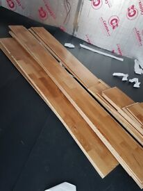 Engineered wood flooring - approx 6m +offcuts