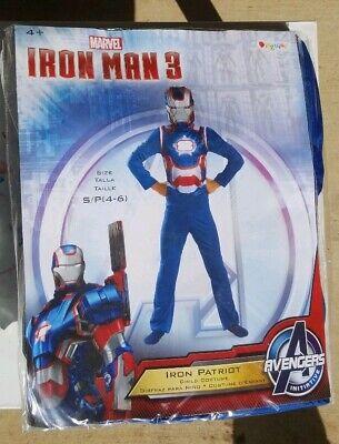 Kids Iron Patriot Costume (Iron Man 3 Patriot Child Classic Costume 2013 Movie Avengers Disguise)